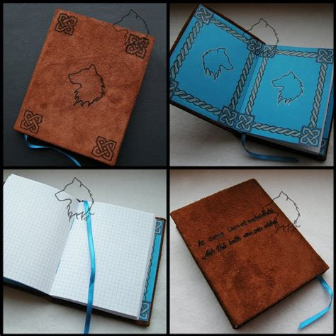 Handmade Notebook - wolfbook handmade notebook by lioncourt on deviantart