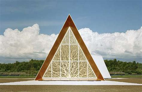 design concept ecumenical church 41 exles of triangular architecture
