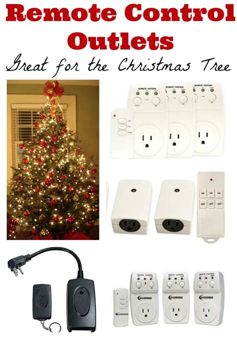 discounted remote control outlets great for christmas tree