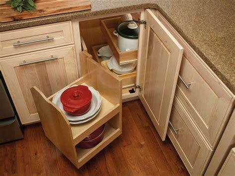blind corner cabinet pull  shelves woodworking