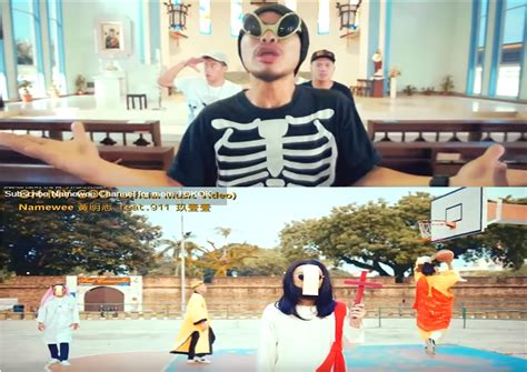 namewee new year song oh my god from rapper namewee mocking or