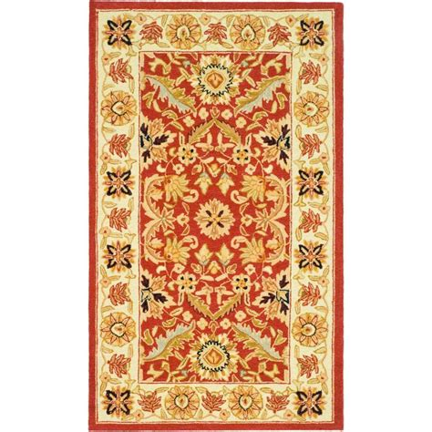 4 x 9 rug safavieh chelsea ivory 2 ft 9 in x 4 ft 9 in area rug hk157a 3 the home depot