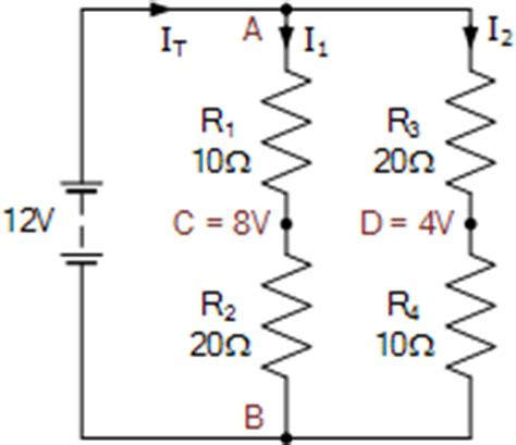 voltage drop across a parallel resistors how to calculate the equivalent resistance of an unbalanced wheatstone bridge quora