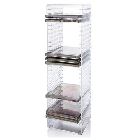 cd storage acrylic cd tower cd storage box custom acrylic dvd case