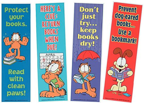 Car Wall Stickers For Boys garfield library posters and bookmarks