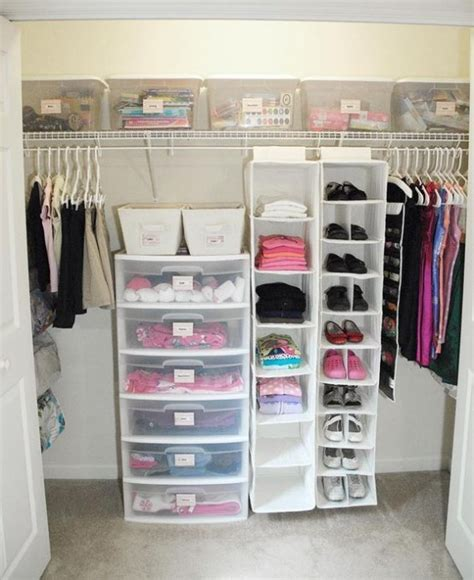 Cheap Closet Organizing Ideas by 37 Smart And Ways To Organize Your Kids Clothes