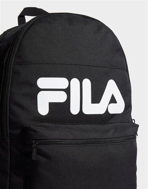 fila vivian backpack  black  men lyst