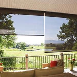 working with a variety of patio window treatments