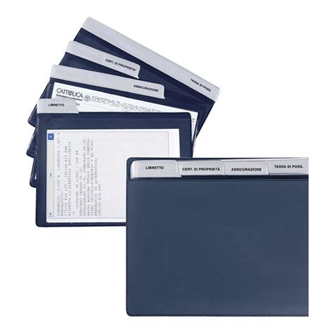 porta documenti auto porta documenti bahrain cm 19 5x15 5 essegienne s r l s