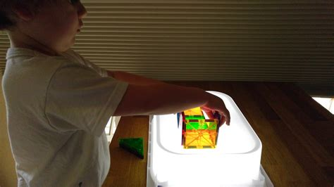 the easiest diy light table earth powered family