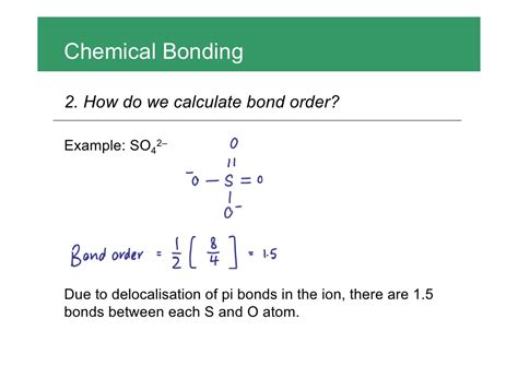 How To Find Of Chemical Bonding