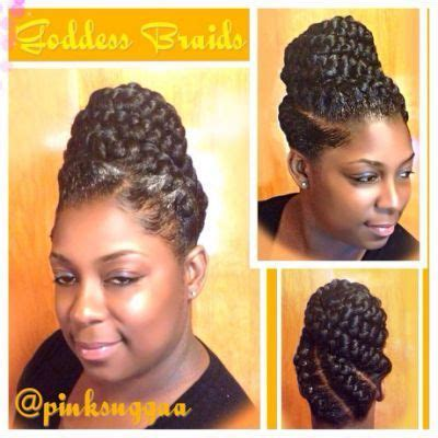 best 25 goddess braids updo ideas on pinterest natural pictures pin up braid styles black hairstle picture