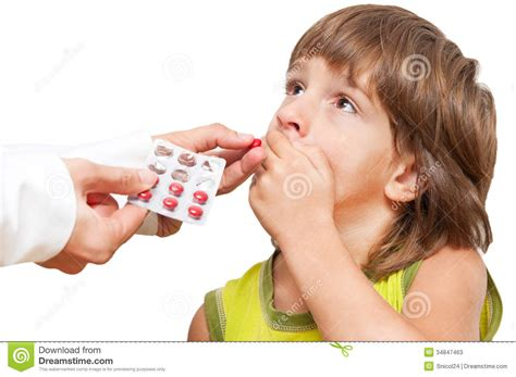doctor giving child medication stock photos image 34847463