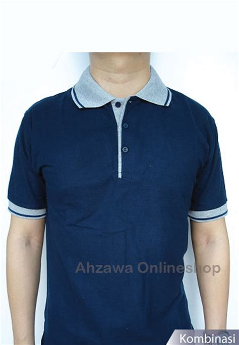 Polo Shirt Polos Murah Navy harga polo shirt bahan lacost cotton warna biru navy kaos