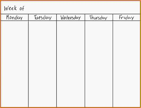 days of the week calendar www pixshark images