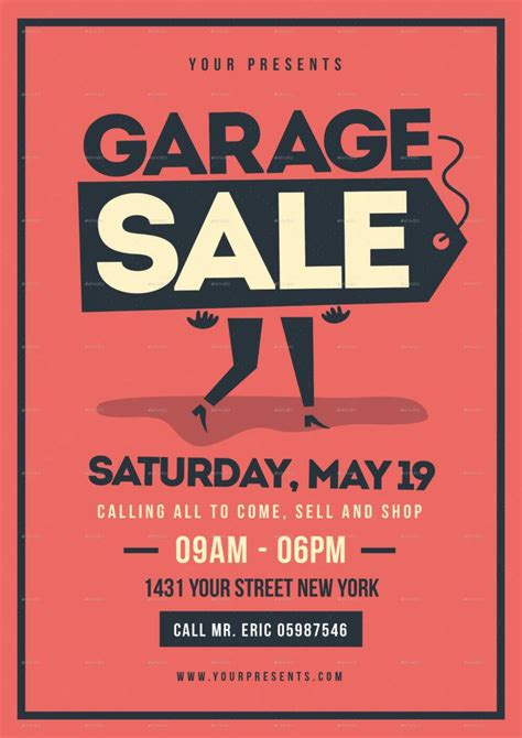 14 Garage Sale Flyer Designs Templates Psd Ai Free Premium Templates Garage Sale Ad Template