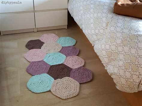 como hacer alfombra trapillo diy by paula alfombra de hex 225 gonos de trapillo
