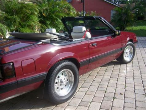 1988 ford mustang lx 5 0 purchase used 1988 mustang lx 5 0 convertible in fort