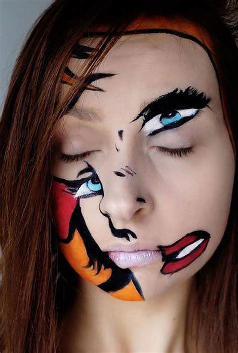 unique halloween makeup ideas  xerxes