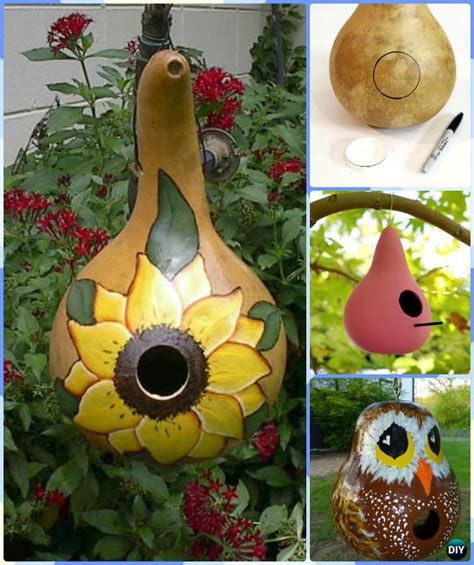 gourd crafts diy gourd craft projects fall home decor gourd crafts