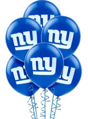 Baloon On Newyork new york giants balloons 6ct city