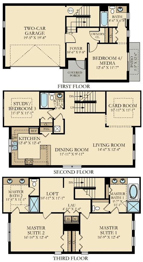 cambridge homes floor plans the vistas at chionsgate