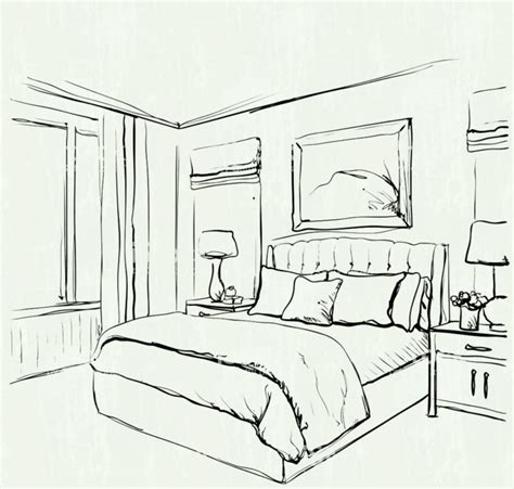 bed drawings and design cool background how easy