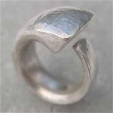 Contemporary Handmade Silver Jewellery - handmade contemporary ring