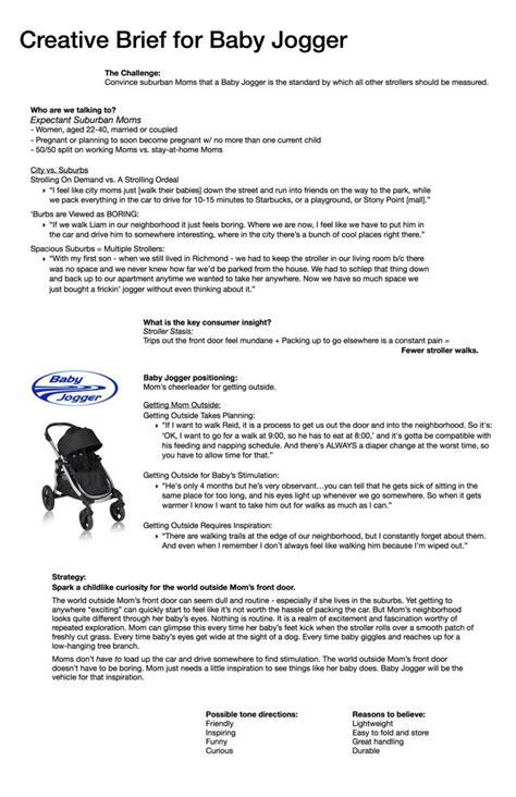 design brief branding 19 best creative brief exles images on pinterest
