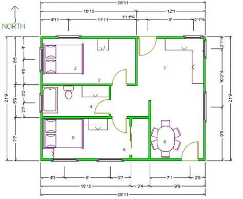 triangulation floor plan sketching