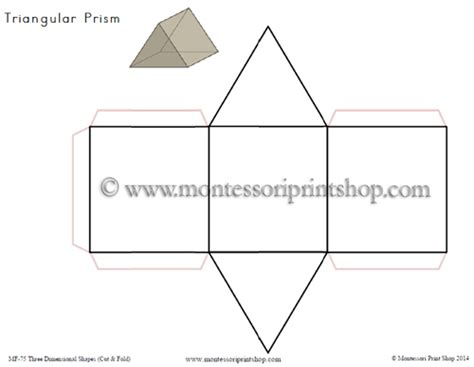 printable 3 dimensional shapes three dimensional shapes cut and fold printable