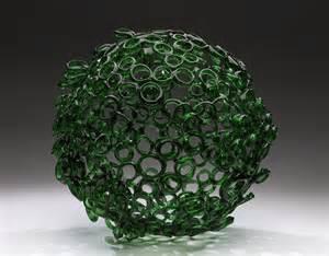 Bottle Chandelier Kiara Pelissier Bottle Sphere 2009 Recycled Glass 20 X