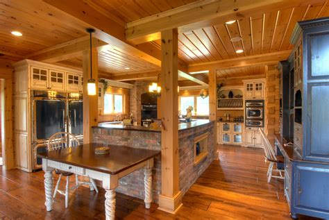 Oak Creek Floor Plans top 6 log home kitchen trends for 2016 confederation log