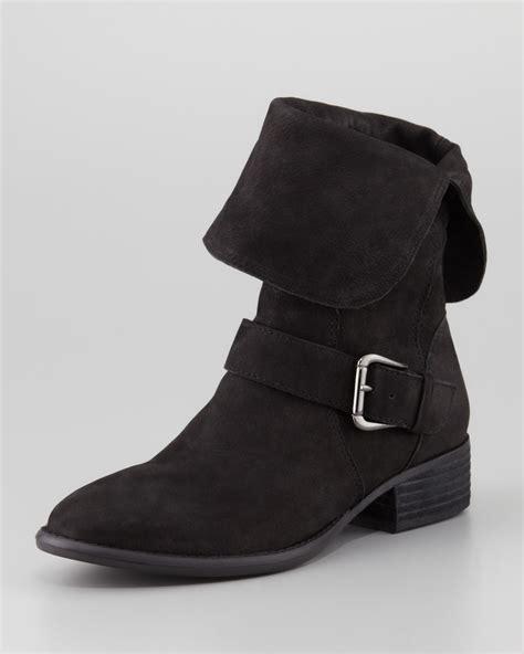 Boot Heels Pita donald j pliner pita suede ankle boot black in black lyst