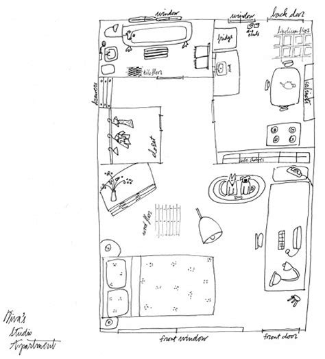 floor plan studio best of studio apartments design sponge