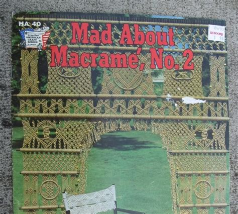 micro macram 233 where to find macrame books