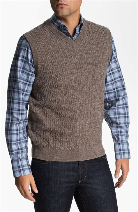 mens cable knit sweater vest 25 best ideas about mens sweater vest on knit