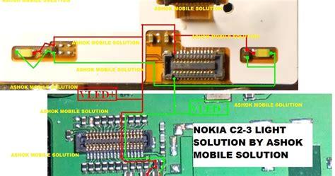ashok mobile solutions nokia 1280 white display solution ashok mobile solutions nokia c2 03 disply light solution