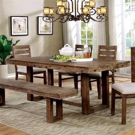 farm style dining room table with bench dining room farmhouse dining room table with bench