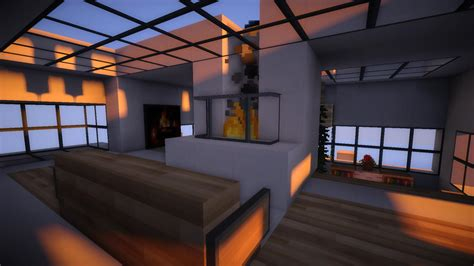 Decoration Maison Minecraft Interieur by Minecraft Maison Moderne Interieur