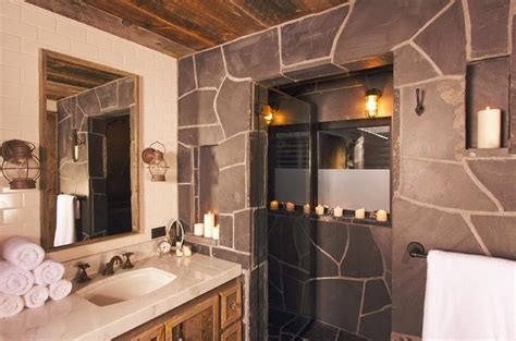 western and rustic bathroom decor ideas bathroom furniture