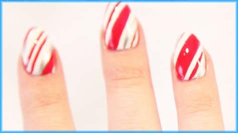 20 mini nail art tutorials youtube candy cane nail art tutorial nail pop ep 20 youtube