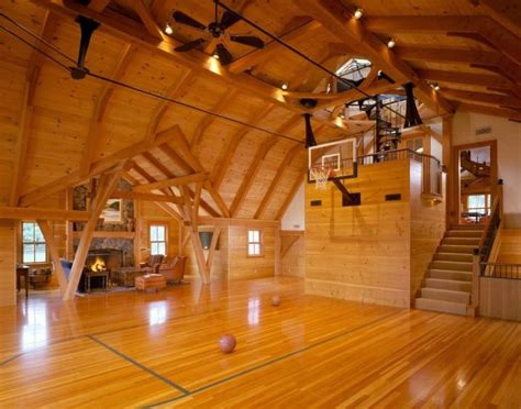 19 Modern Indoor Home Basketball Courts Plans And Designs Home Basketball Court Design