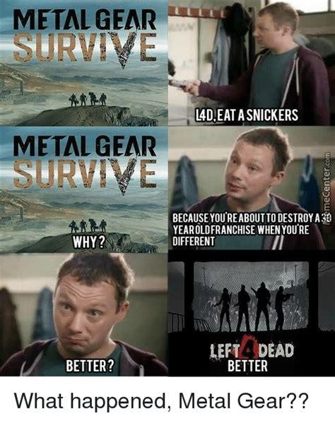 Meme Metal Gear - 25 best memes about metal gear metal gear memes