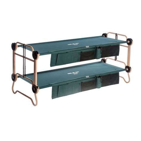 most comfortable cots disc o bed large green bunkable beds 2 pack 30001bo