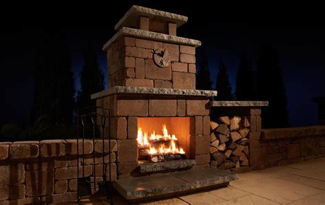 Ourdoor Fireplace by Outdoor Fireplaces Franklin