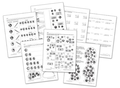 Touch Math Money Worksheets by 1000 Images About Touch Math On Coins
