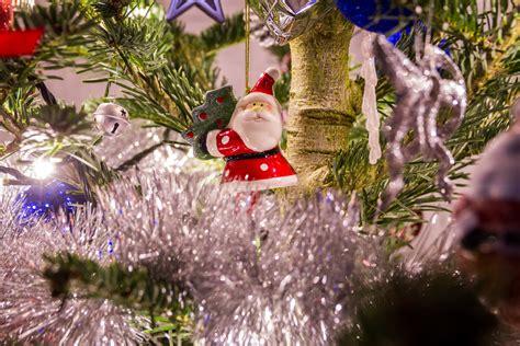Ho2583w Aksesoris Dekorasi Pohon Natal Merry Santa gambar musim dingin menanam hangat bunga perayaan liburan gantung kabur hari natal