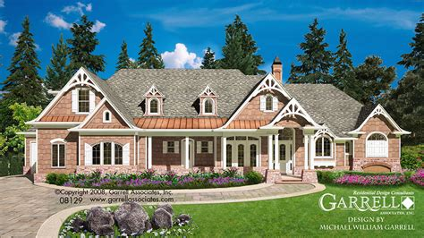 mountainside house plans mountain craftsman house plans