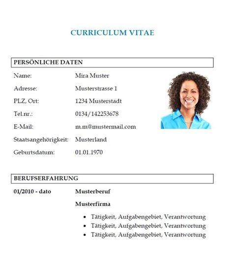 Lebenslauf Muster In österreich Lebenslauf Vorlage Word Tabellarischer Lebenslauf Vorlage Muster Und Vorlagen Kostenlos